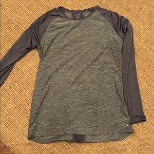 Long sleeve exercise top